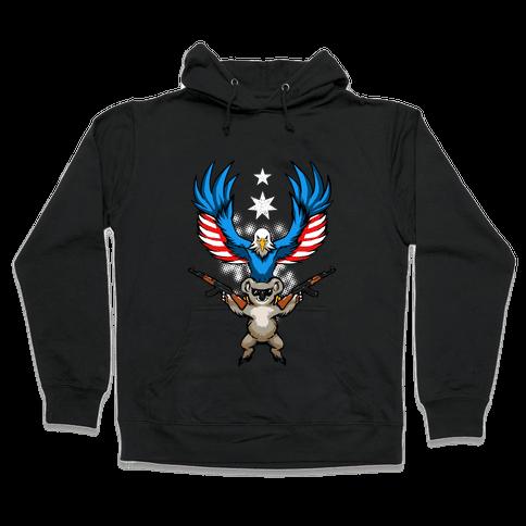 Ameristralia: TASTE THE FREEDOM Hooded Sweatshirt