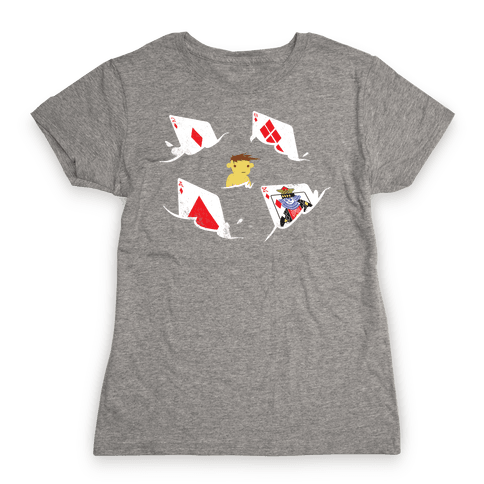 Card Sharks (Organic) Womens T-Shirt