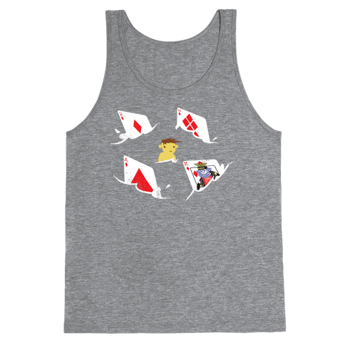Card Sharks (Organic) Tank Top
