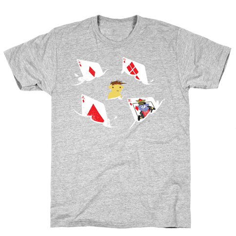 Card Sharks (Organic) Mens T-Shirt