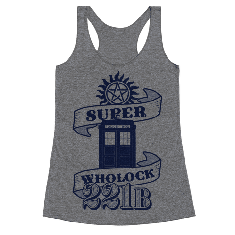 Superwholock Icons Racerback Tank Top