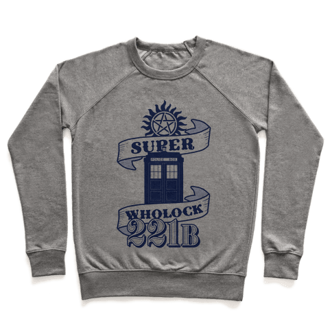 Superwholock Icons Pullover