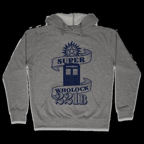 Superwholock Icons Hooded Sweatshirt