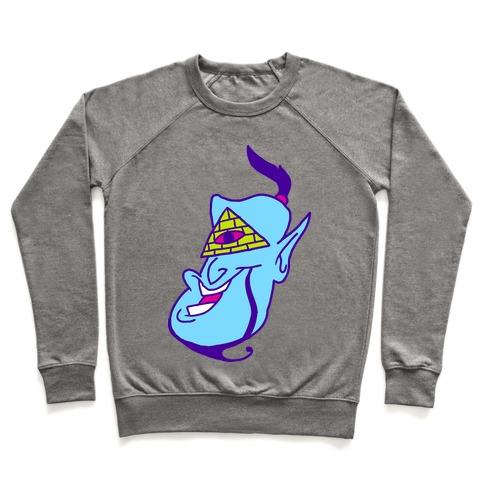 Illuminati Genie Pullover