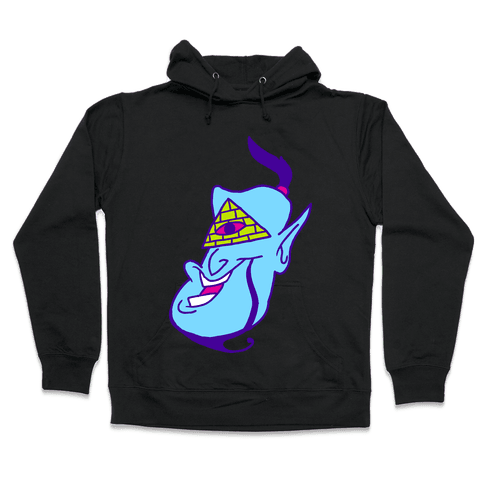 Illuminati Genie Hooded Sweatshirt