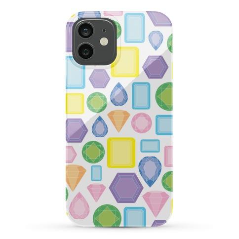 Pastel Gem Pattern Phone Case