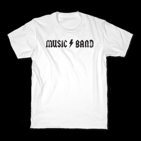 Music Band (Vintage) Kids T-Shirt