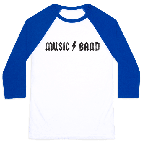 Music Band (Vintage) Baseball Tee