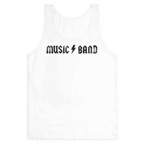 Music Band (Vintage) Tank Top