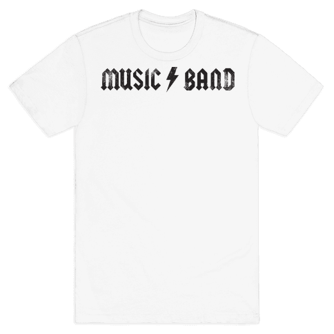 Music Band (Vintage) Mens T-Shirt