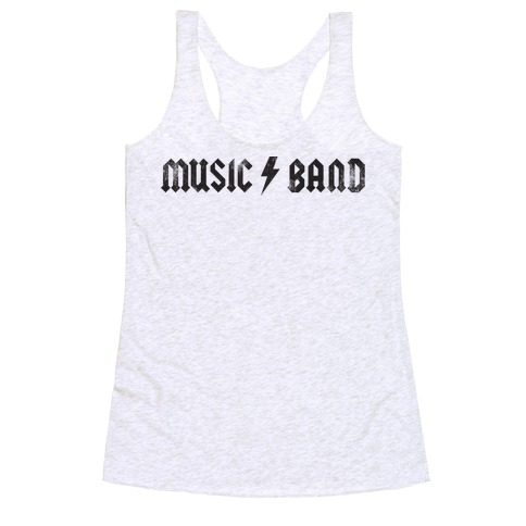 Music Band (Vintage) Racerback Tank Top