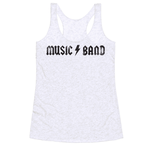 Music Band (Vintage) Racerback Tank Top