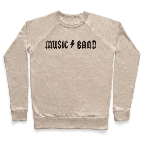 Music Band (Vintage) Pullover