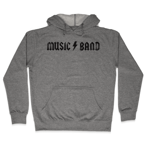 Music Band (Vintage) Hooded Sweatshirt