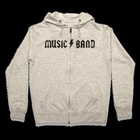 Music Band (Vintage) Zip Hoodie