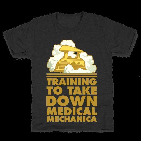 Training to Take Down Medical Mechanica Kids T-Shirt