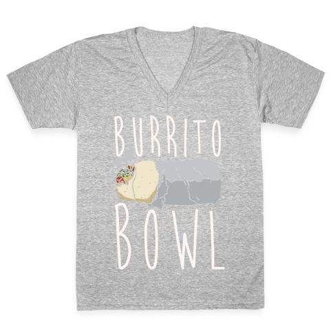 Burrito Bowl V-Neck Tee Shirt