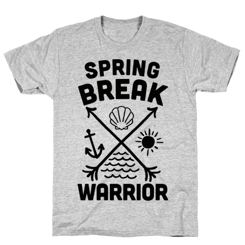 Spring Break Warrior Mens T-Shirt