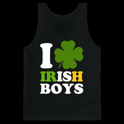 I Love Irish Boys Tank Top