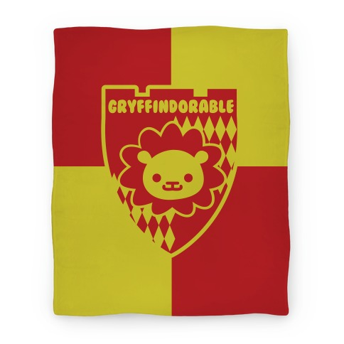 Gryffindorable Blanket