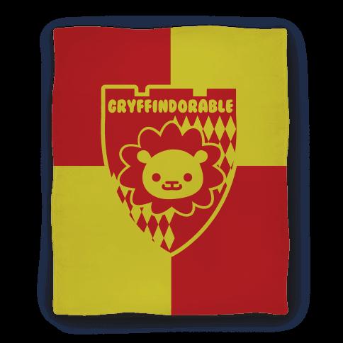 Gryffindorable Blanket