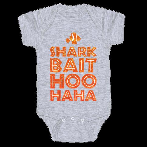 Shark Bait Hoo Haha Baby Onesy