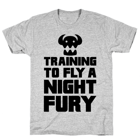 Training To Fly A Nightfury Mens T-Shirt