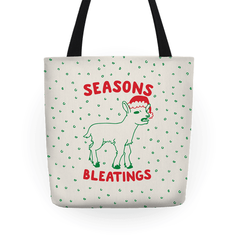 Seasons Bleatings Tote