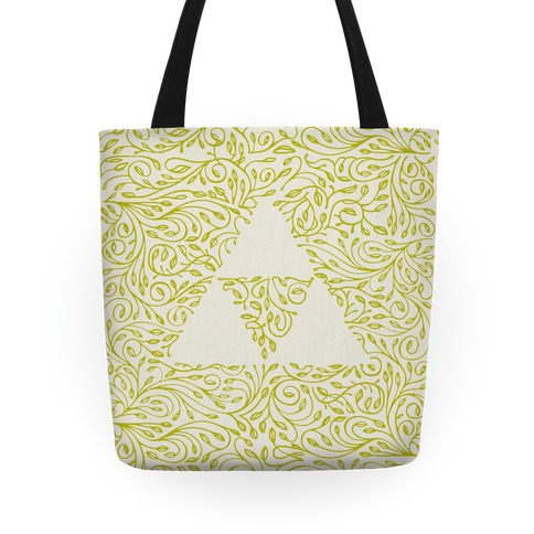 Subtle Triforce Pattern Tote