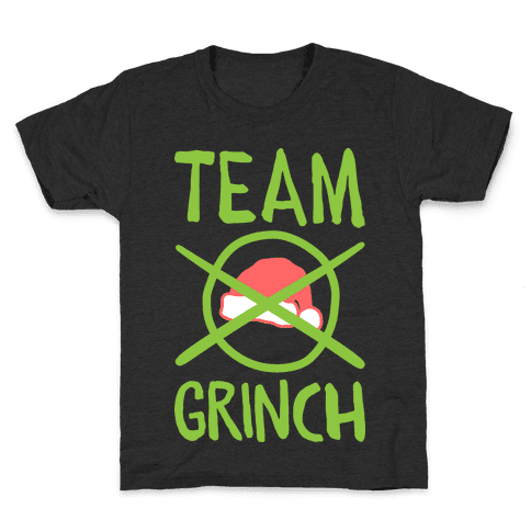 Team Grinch Kids T-Shirt