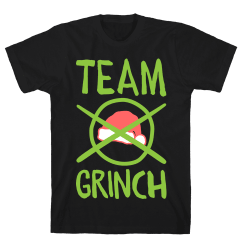 Team Grinch Mens T-Shirt