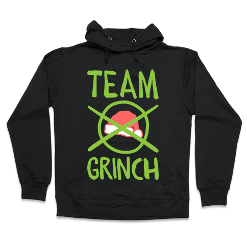 Team Grinch Hooded Sweatshirt