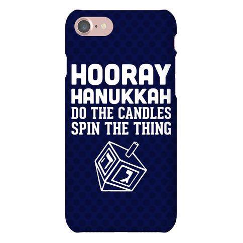 Hooray Hanukkah Phone Case