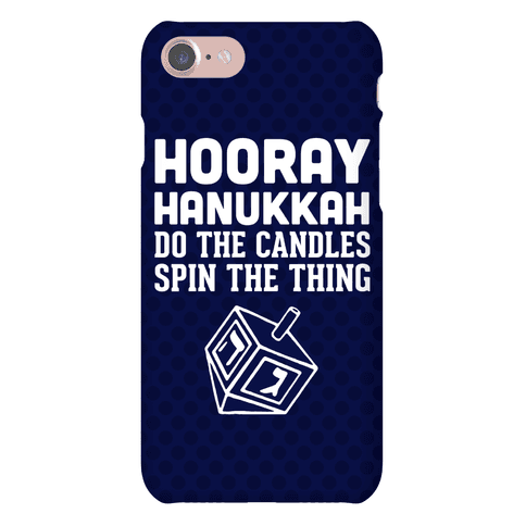 Hooray Hanukkah Phone Case