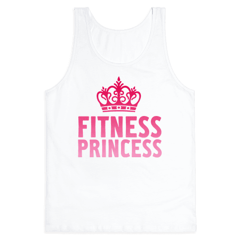 Fitness Princess Tank Top
