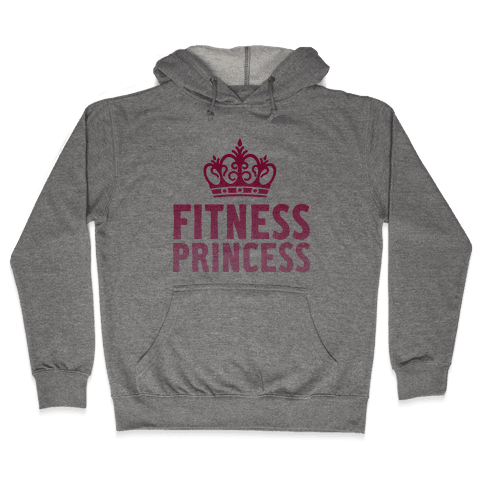 Fitness Princess Hooded Sweatshirt