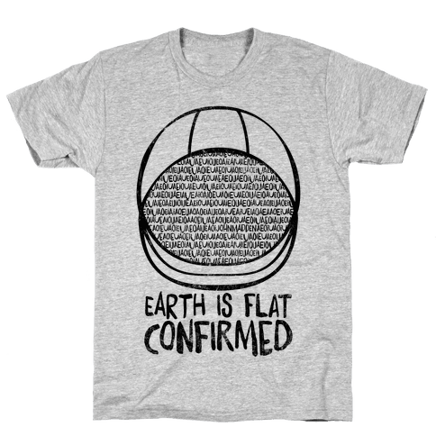 Earth Is Flat (Confirmed)