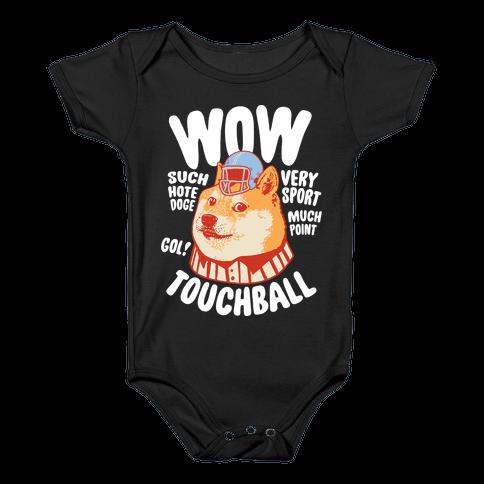 Sports Doge Baby Onesy
