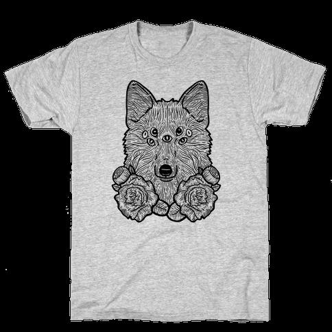 Seven Eyed Fox Mens T-Shirt