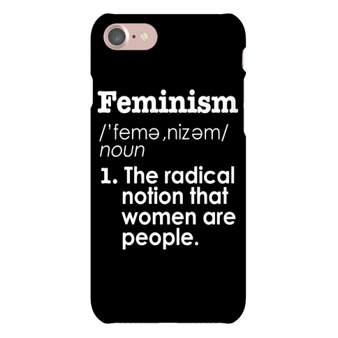 Feminism Definition Phone Case