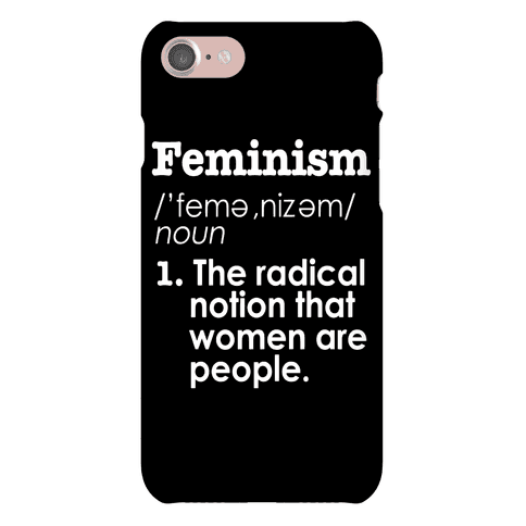 Feminism Definition Phone Case