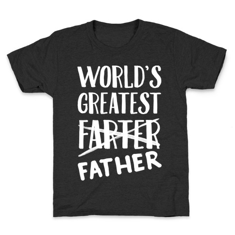World's Greatest Farter Kids T-Shirt