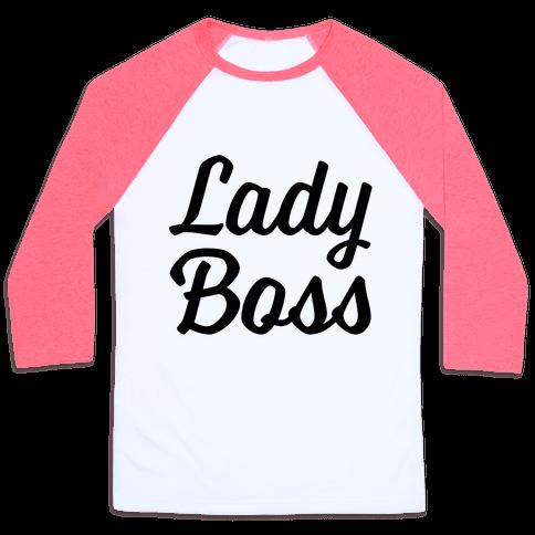 Lady Boss Baseball Tee