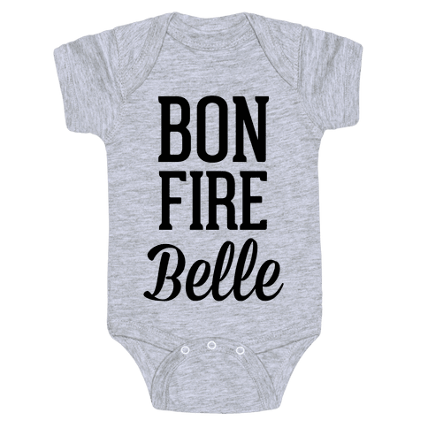 Bonfire Belle Baby Onesy