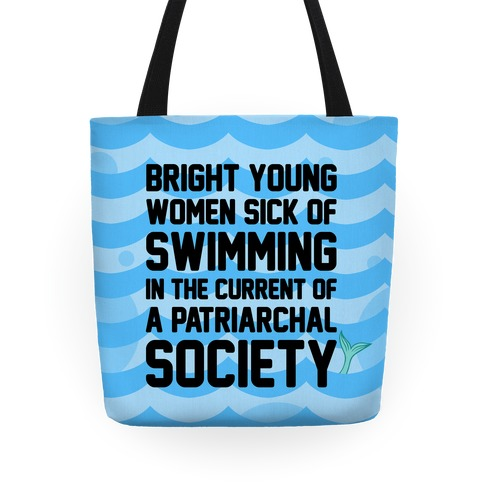 Feminist Mermaid Tote