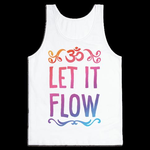 Let It Flow Yoga Tank Top
