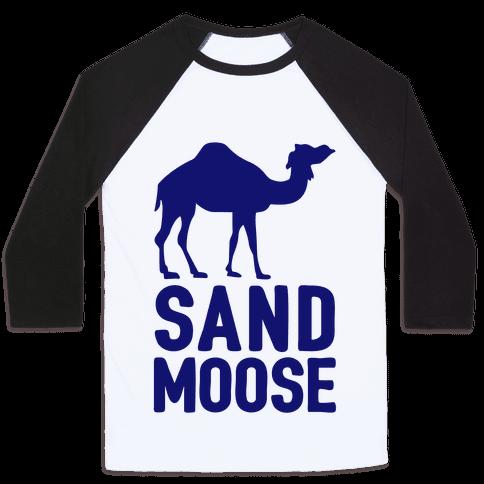 Sand Moose Baseball Tee