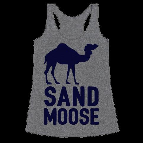 Sand Moose Racerback Tank Top