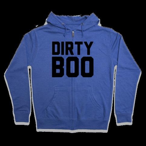 Dirty Boo Zip Hoodie