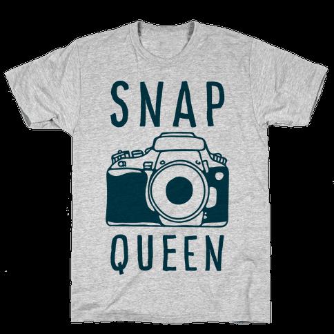 Snap Queen Mens T-Shirt